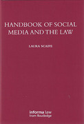 Cover of Handbook of Social Media and the Law
