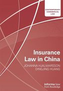Cover of Insurance Law in China
