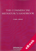 Cover of The Commercial Mediator's Handbook (eBook)