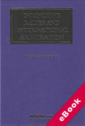 Cover of Injunctive Relief and International Arbitration (eBook)