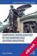 Cover of Corporate Manslaughter in the Maritime and Aviation Industries (eBook)