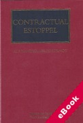 Cover of Contractual Estoppel (eBook)