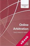 Cover of Online Arbitration (eBook)