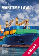 Cover of Maritime Law (eBook)