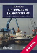 Cover of Dictionary of Shipping Terms: French-English and English-French (eBook)
