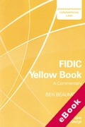 Cover of FIDIC Yellow Book: A Commentary (eBook)