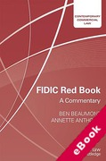 Cover of FIDIC Red Book: A Commentary (eBook)