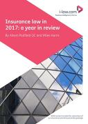 Cover of Insurance Law in 2017: A Year in Review