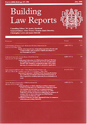 Cover of Building Law Reports: Print + Online