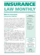 Cover of Insurance Law Monthly: Print + Online