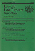 Cover of Lloyd's Law Reports: Financial Crime - Print + Online
