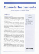 Cover of Financial Instruments Tax and Accounting Review: Print + Online