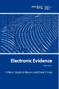 Cover of Electronic Evidence