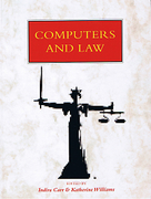 Cover of Computers and Law