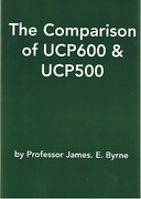 Cover of Comparison of UCP 600 & UCP 500