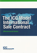 Cover of ICC Model International Sale Contract  (Manufactured Goods)