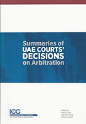 Cover of Summaries of UAE Court's Decisions on Arbitration