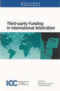 Cover of Third Party Funding in International Arbitration