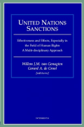 Cover of United Nations Sanctions:  Effectiveness and Effects, Especially in the Field of Human Rights. A Multi-disciplinary Approach