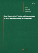 Cover of Legal Aspects of Soil Pollution and Decontamination in the European Union and the United States