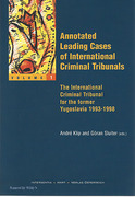 Cover of Annotated Leading Cases of International Criminal Tribunals: Volume 1