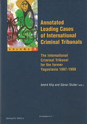 Cover of Annotated Leading Cases of International Criminal Tribunals: Volume 3