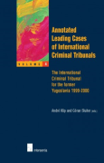 Cover of Annotated Leading Cases of International Criminal Tribunals: Volume 4