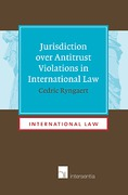 Cover of Jurisdiction over Antitrust Violations in International Law