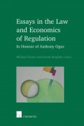 Cover of Essays in the Law and Economics of Regulation: In Honour of Anthony Ogus