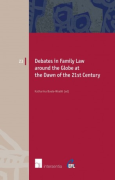 Cover of Debates in Family Law around the Globe at the Dawn of the 21st Century