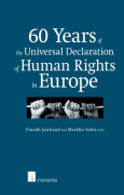 Cover of 60 Years of the Universal Declaration of Human Rights in Europe