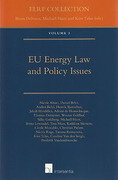 Cover of EU Energy Law and Policy Issues