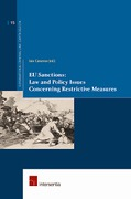 Cover of EU Sanctions: Law and Policy Issues Concerning Restrictive Measures