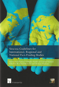 Cover of Siracusa Guidelines for International, Regional and National Fact-finding Bodies