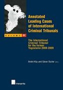 Cover of Annotated Leading Cases of International Criminal Tribunals - volume 37: The International Criminal Tribunal for the former Yugoslavia 2008-2009
