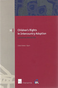 Cover of Children's Rights in Intercountry Adoption: A European Perspective