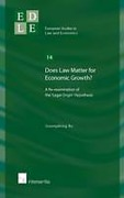Cover of Does Law Matter for Economic Growth? A Re-examination of the 'Legal Origin' Hypothesis