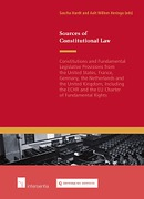 Cover of Sources of Constitutional Law:  Constitutions and Relevant Laws from the United States, France, Germany, the Netherlands and the United Kingdom ECHR and Charter of Fundamental Rights