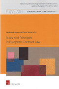 Cover of Rules and Principles in European Contract Law
