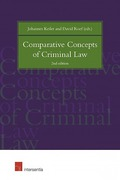 Cover of Comparative Concepts of Criminal Law