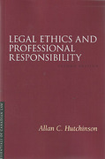 Cover of Legal Ethics and Professional Responsibility