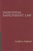 Cover of Individual Employment Law