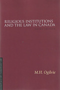 Cover of Religious Institutions and the Law in Canada