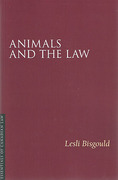 Cover of Animals and the Law