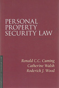 Cover of Personal Property Security Law
