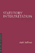 Cover of Statutory Interpretation