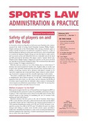 Cover of Sports Law Administration and Practice