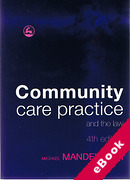 Cover of Community Care Practice and the Law (eBook)
