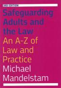 Cover of Safeguarding Adults and the Law