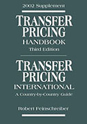 Cover of 2002 Supplement: Transfer Pricing Handbook & Transfer Pricing International